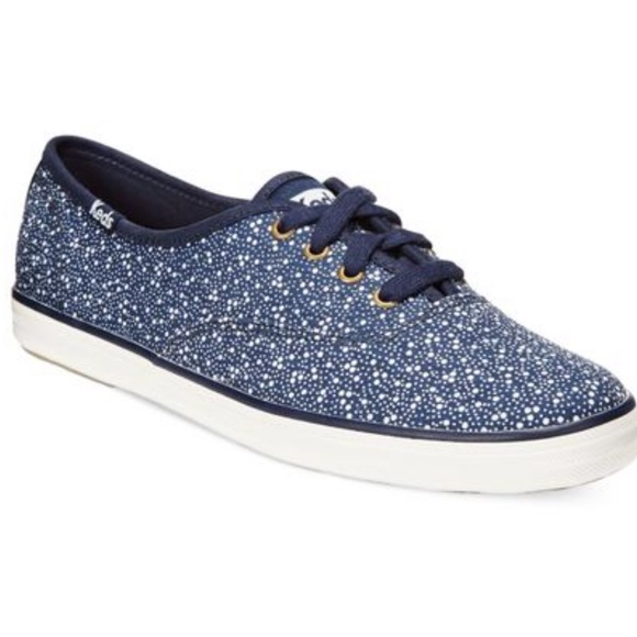 Keds Blue Champion sSelzer Dot oOxford Sneakers